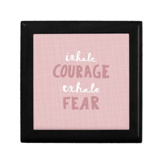 Inhale Courage Exhale Fear Gift Box