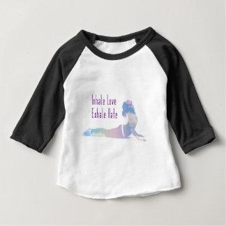 Inhale Love Yoga Series Baby T-Shirt