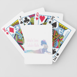 Inhale Love Yoga Series Poker Deck