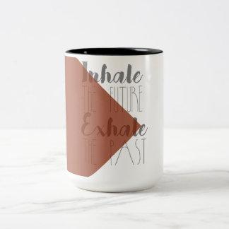 Inhale the Future, Exhale the Past | Modern Mug