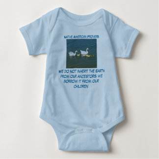 inherit the Earth infant onsie creeper