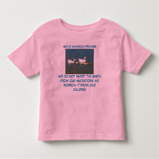 inherit the Earth toddler shirt