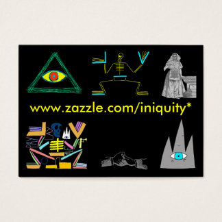 INIQUITY Cards