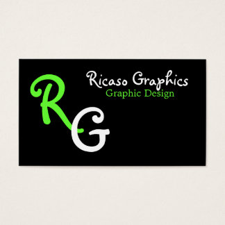 Initial Business Business Card