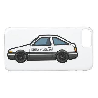 Initial D AE 86 Trueno Tofu Shop Design iPhone 8/7 Case