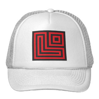 Initial for names starting with L Trucker Hat