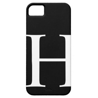 Initial H iPhone 5 Covers