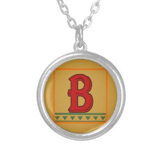 Initial, Italian Red Letter Custom Jewelry