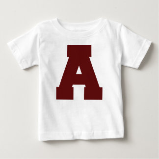 Initial Letter A Baby T-Shirt