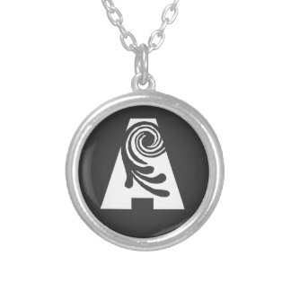 Initial necklace To Blanca