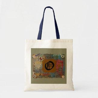Initial O Tote Bag