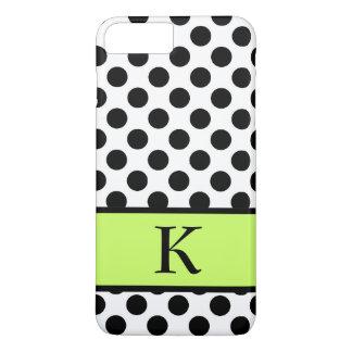 Initial Poka Dot Iphone 7 Plus Case