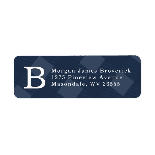 Initial return address label