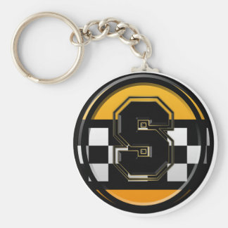 Initial S taxi driver Keychain