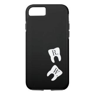 Initialed Teeth Dentistry Symbol Custom iPhone 7 Case