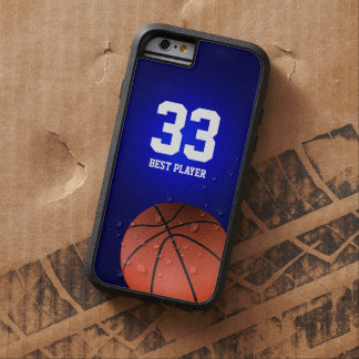 Initials Basketball | Sports Gifts Tough Xtreme iPhone 6 Case