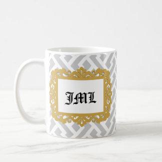 Initials in Photo Frame Coffee Mug