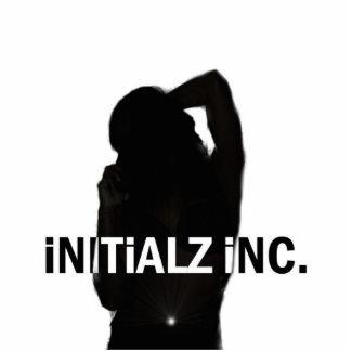 Initialz INC Logo Sculptor Cut Out