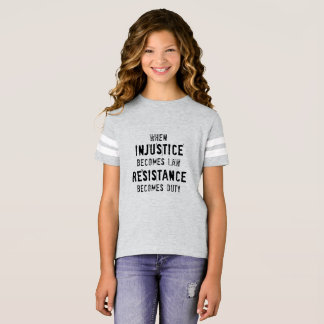 Injustice and Duty Tee