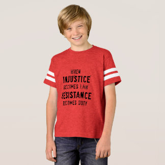 Injustice and Duty Tee, for kids T-Shirt