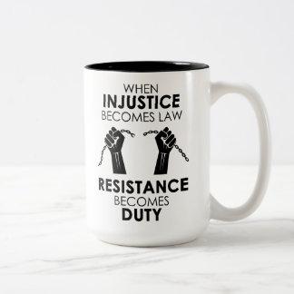 Injustice Large Mug