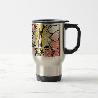 Ink and Pink Travel Mug