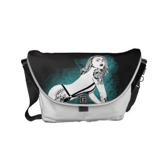 ink babe messenger bag
