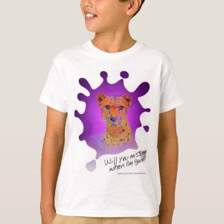 Ink blot Cheetah Z T-Shirt