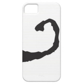 Ink blot smile iPhone 5 covers