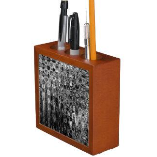 Ink & Echo I Desk Organizer by Artist C.L. Brown