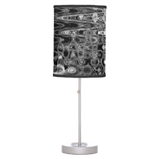 Ink & Echo I Table Lamp by Artist C.L. Brown
