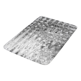 Ink & Echo II Bath Mat by Artist C.L. Brown