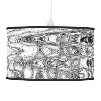 Ink & Echo II Pendant Lamp by Artist C.L. Brown