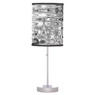 Ink & Echo II Table Lamp by Artist C.L. Brown