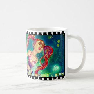 Ink Girl Plain Mug
