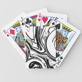 Ink in Water Bicycle Playing Cards