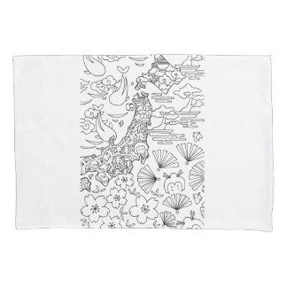 Ink: JAPAN Pillowcase
