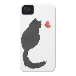 Ink Kitty iPhone 4 Cover