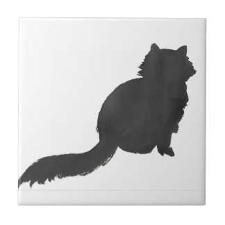 Ink Kitty Tile