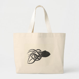 Ink Octopus Large Tote Bag