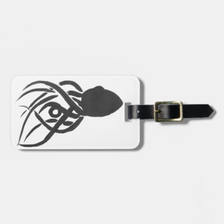 Ink Octopus Luggage Tag