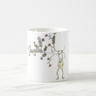 Ink Paint Repeat Frog Coffee Mug