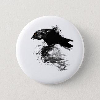Ink Raven 2 Inch Round Button