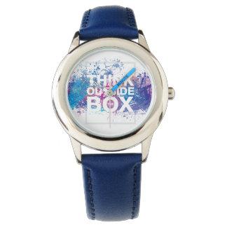 Ink Splatter Watch