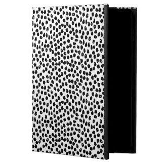 Ink Spots - White/Black / Andrea Lauren iPad Air Cases