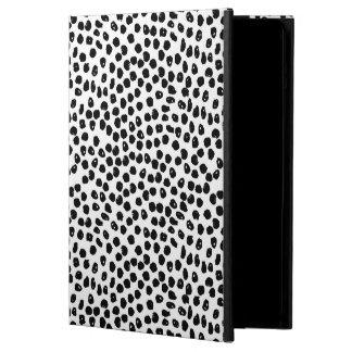Ink Spots - White/Black / Andrea Lauren iPad Air Covers