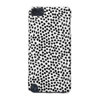 Ink Spots - White/Black / Andrea Lauren iPod Touch (5th Generation) Covers