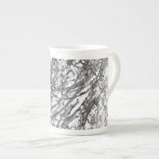 Ink Wash Bone China Mug by Artist C.L. Brown