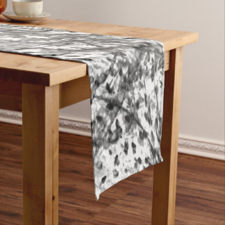 Ink Wash Table Runner by Artist C.L. Brown