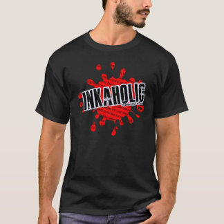 Inkaholic Blood Spatter T-Shirt